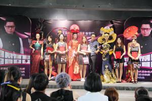 百美汇精彩视频:百美汇化妆专业毕业时尚走秀
